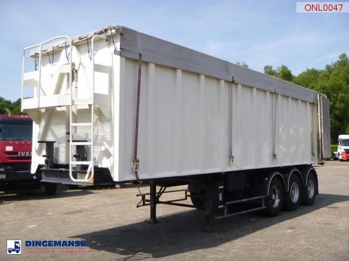 Benalu Tipper trailer alu 49 m3 doors - 1998