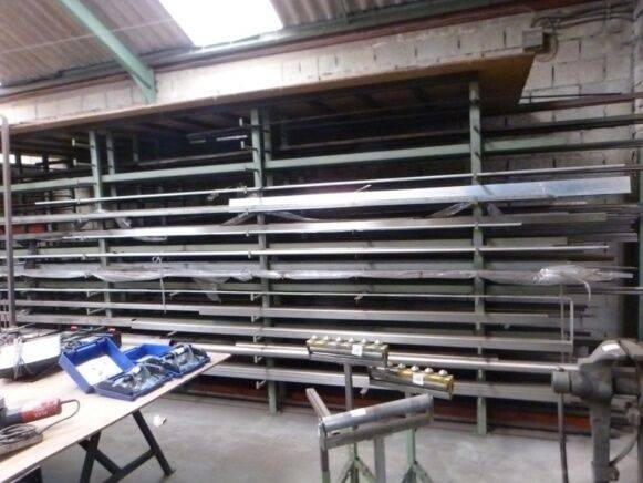 Sale rack and metal balance warehouse shelving for  by auction