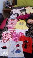 Baby girl clothes 3-6 months in perfect condition