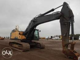 Excavator Volvo Ec480el/2015 import from USA