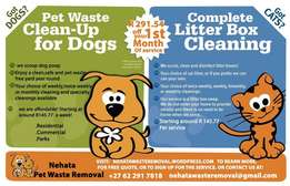 Pet Waste Removal(Clean-Up)