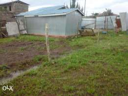 40 by 100 Plot in Mwihoko/Temporary House