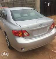 Clean Tokunbo Toyota Corolla 2009