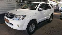 2007 Toyota Fortuner 3.0D-4D R/B (633)