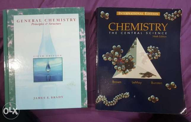 Chemistry Textbooks [3KD each]