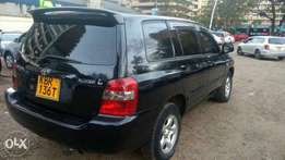 Toyota Kluger on sale