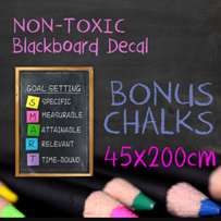 Removable blackboard sticker