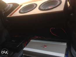 Top quality car audio installations