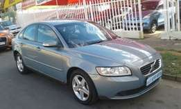 Blue Volvo S40 2.0 Powershift Still In Good Condition For Sale