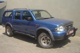 2004 Ford Ranger 2.5 D D/Cab 4 by 4