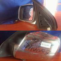 Nissan Xtrail Side Mirror with Chrome