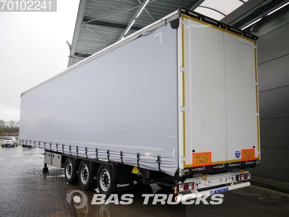 Krone SD Liftachse Hubdach Bordwande Mega - 2018