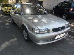 2006 Silver Toyota tazz 1.3 Hatch for sale