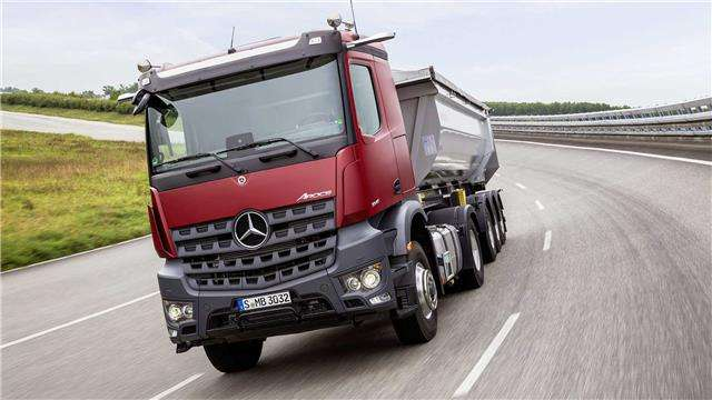 Mercedes-Benz Arocs Carro Betoniera