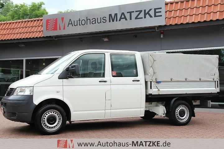 Volkswagen T5 Pritsche Doka 4Motion 5-Sitze AHK Standheiz - 2009