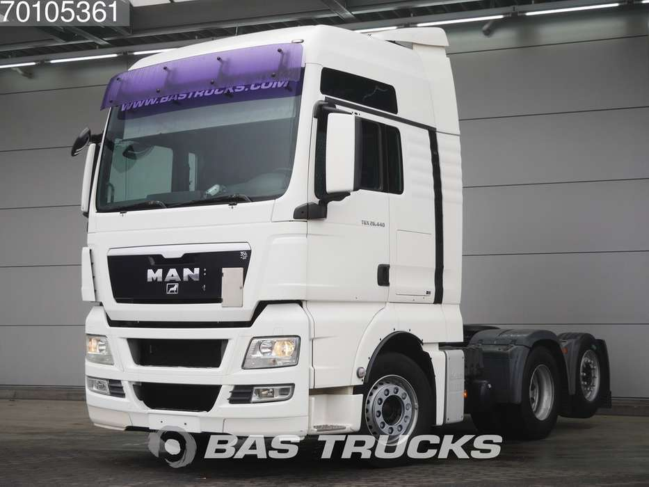 TGX 26.440 XXL 6X2 Manual Liftachse Euro 4 - 2009