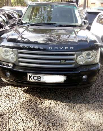 Range Vogue, 4000cc petrol, year 2007, dark blue colour, grey interior City Centre - image 1