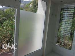 Frosted Decals for Shower Enclosures
