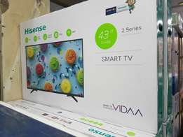 Hisense 43 inch smart Tv,brand new and sealed in a shop