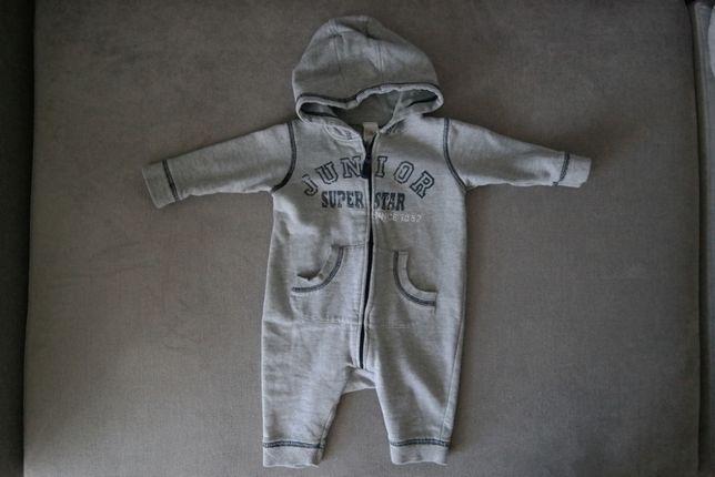 c4ba0532 Chłopiec 68 (3-6M) Kombinezon dresowy GREY MARL niemowlęcy wiosna ...