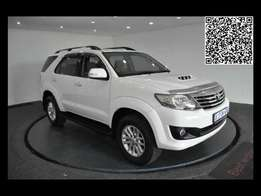 2013 Toyota Fortuner 2.5D-D , A/T