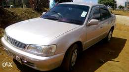 Toyota corolla saloon 110 for quick sale