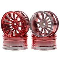 RC 1/10 On-road Racing Car Red Wheel Rim