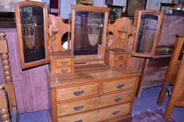 Satinwood Dressing Table