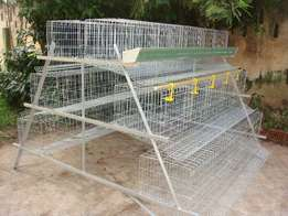 120 Bird Capacity Chicken Layer Cage for sale