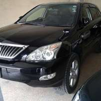 Toyota Harrier double sunroof leather seats 2010 kcm