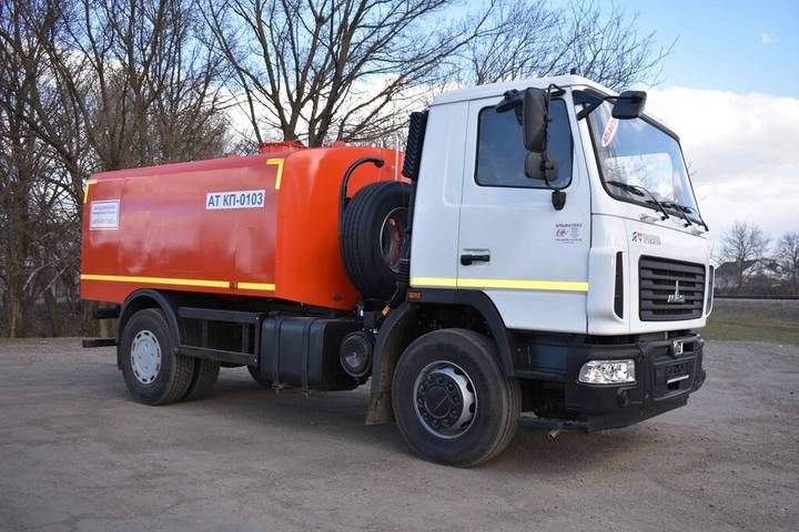 Maz new at kp 0103 na shassi  5340c2 sewer jetter truck - 2019