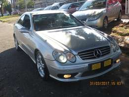 Mercedes Benz CLK55 Automatic with electric windows and power steering