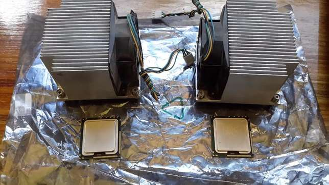 2 X Intel® Xeon® Processor E5606 & E5520 with Coolers Roodepoort - image 1