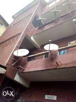3 building storey on a plot of land by CBN marina, Lagos