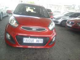Kia Picanto 1,2, Model 2013, Mileage 35000km, Colour Maroon