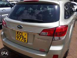 Subaru Out back year 2012 Automatic 2500cc. Fully loaded