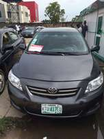 Super clean Nigeria used Toyota Corolla 2009 model