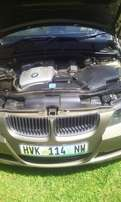 Very Clean Accident Free 2007 Bmw 320I (E90) Gold in colour, Leather i