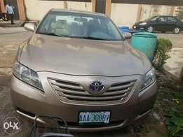 Bought Brand new 2008 Toyota Camry.