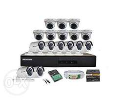 1080p 16-kit Hikvision complete set offer.
