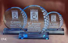 Interested in our Customized Acrylic Trophies,Free delivery within cbd