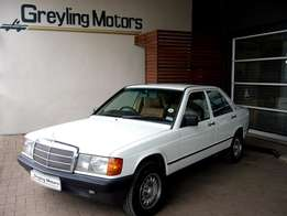 1985 MERCEDES-BENZ 190E 2.0 A/T for only R89 900 - Collector's item!