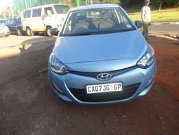 Pre owned sky blue Hyundai i20 1.6 is now for sale