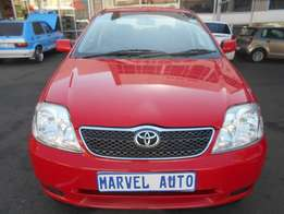 2005 Automatic Toyota Corolla 1.6 Gle For R80,000