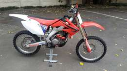2009 CRF250R Stripping