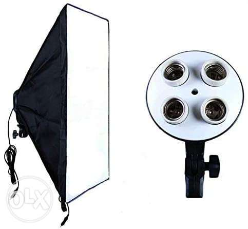 4 slot Studio softBox light For videography & photography