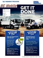 DAEWOO Mixer and Tipper