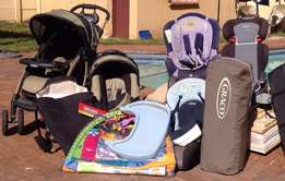 Second-hand baby furniture and items for sale