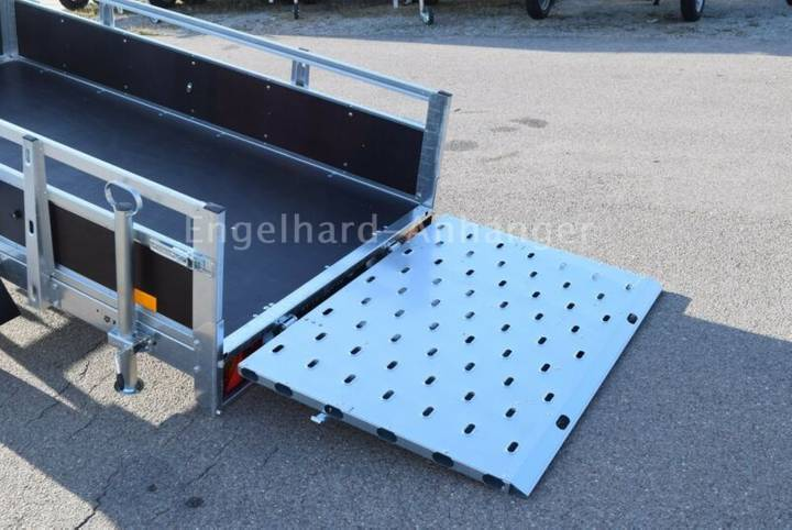 TEMA PRAKTI 2312 WL mit Auffahrrampe - 750 kg