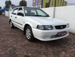 2004 toyota tazz 1.3 a/c,not goin to find a cleaner tazz than this,1 o
